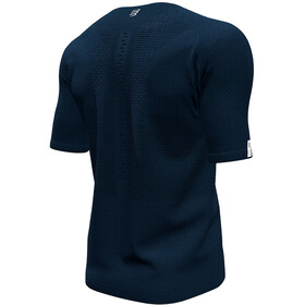 Compressport Trail Fitted T-Shirt met Halve Rits Mont Blanc 2020 Heren, blue
